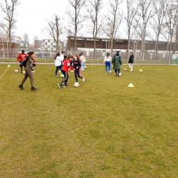 Geslaagde meiden voetbalmiddag GSC ESDO